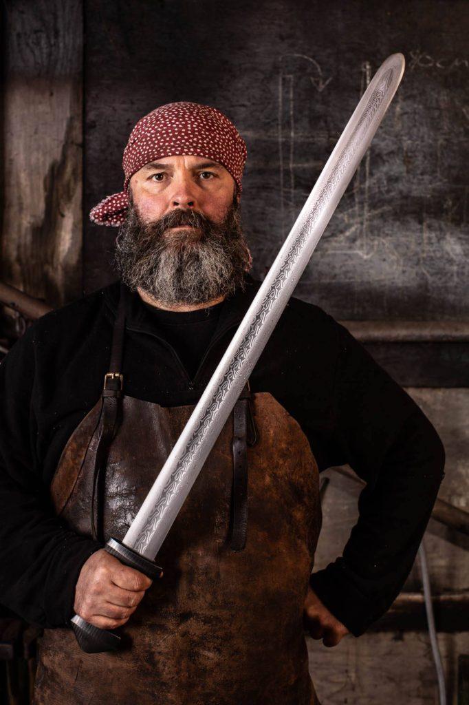Owen With Sword