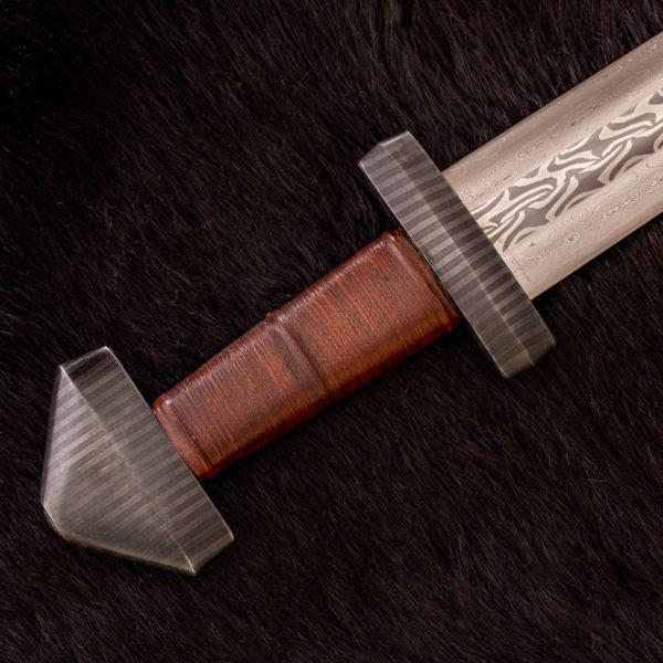 Patternwelded Viking Sword Hilt
