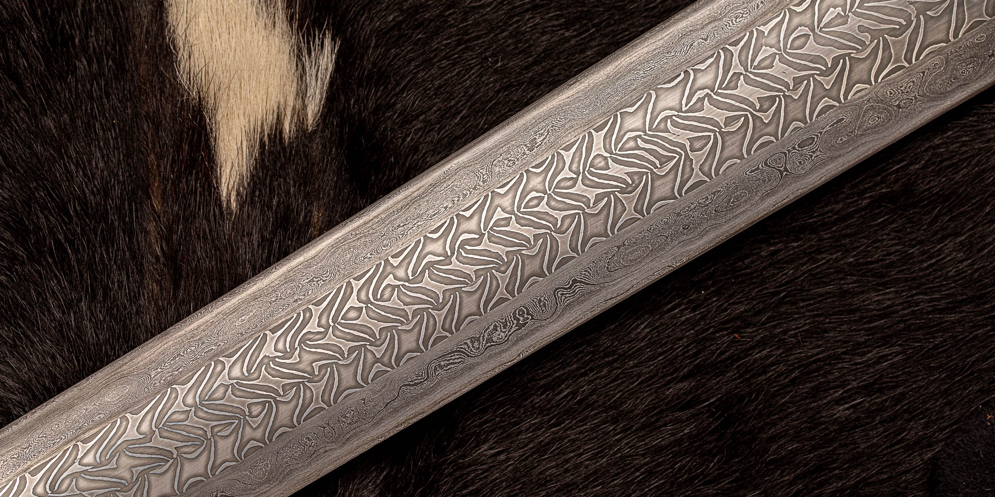 Sword Damascus Detail