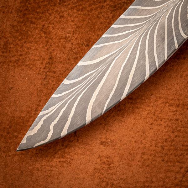 Feather Pattern Damascus