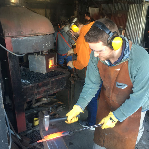 Knife blade forging